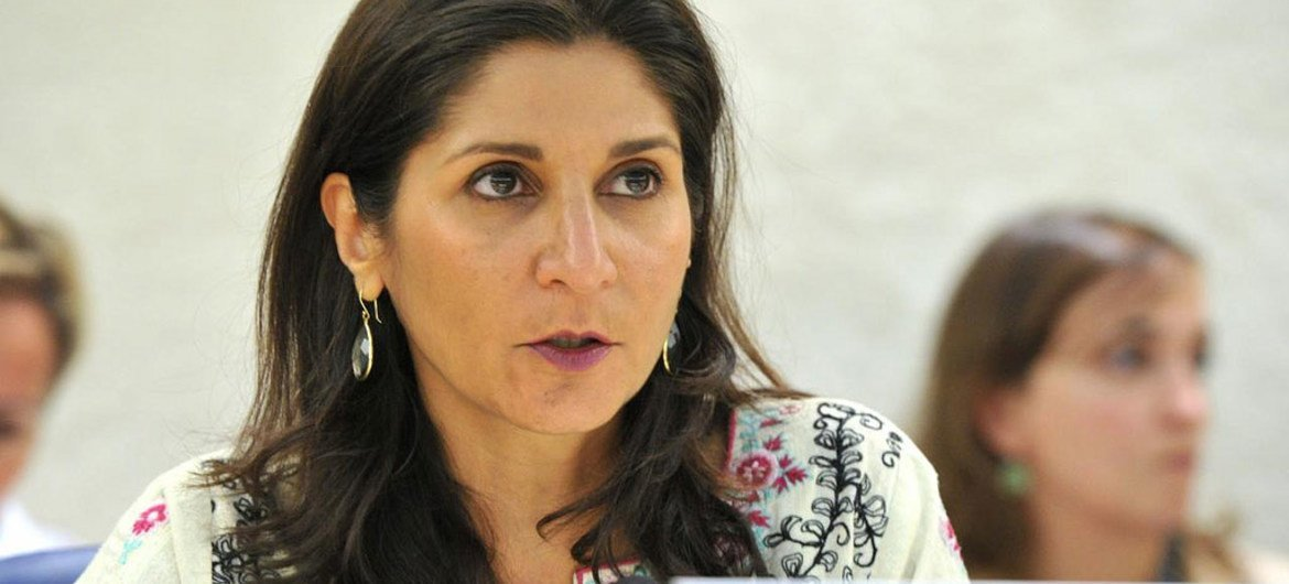 Chairperson of the Working Group on the use of Mercenaires Faiza Patel.
