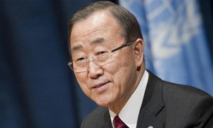 Secretary-General Ban Ki-moon holds end of year press conference.