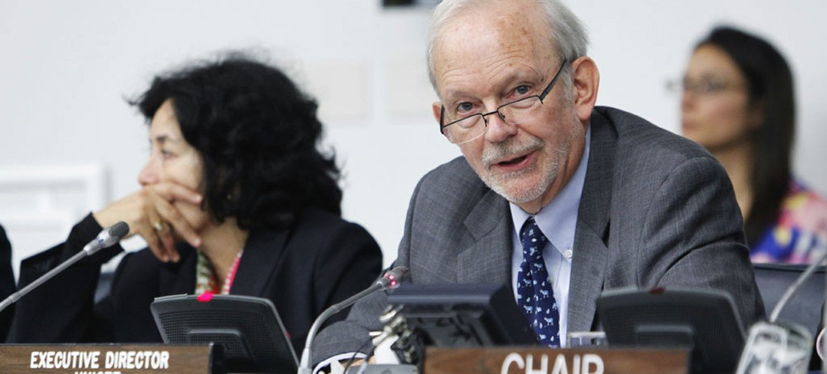Executive Director of the UN Children's Fund (UNICEF) Anthony Lake.