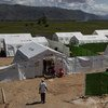A cholera treatment centre in Haiti (December 2012).