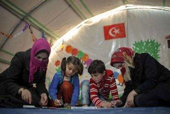 Сирийские беженцы в Турции