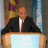 Embajador de Buena Voluntad de la UNESCO, el escritor y pacifista Madanjeet Singh (1924-2013)