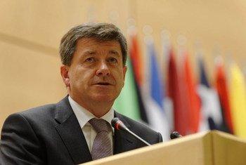 Guy Ryder, director general de la OIT. Foto de archivo: OIT/Crozet