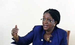 Special Representative Zainab Hawa Bangura.