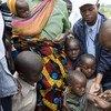 Vacunación contra el sarampión. Foto de archivo: OMS/Christopher Black