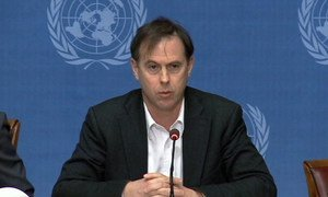 Rupert Colville, spokesperson for the UN High Commissioner for Human Rights (OHCHR).