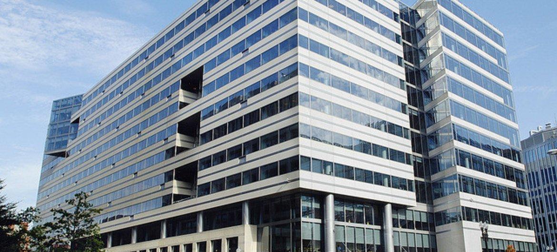 Штаб-квартира МВФ в Вашингтоне.
