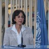 Rima Khalaf, Executive Secretary of the Economic and Social Commission for Western Asia.