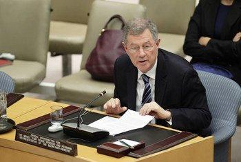 Le Coordonnateur spécial des Nations Unies pour le processus de paix au Moyen-Orient, Robert Serry.