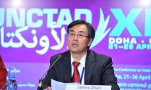 Director of UNCTAD's Division on Investment and Enterprise James Zhan.