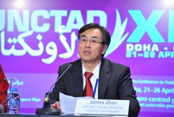 联合国贸发组织投资和企业司司长詹晓宁