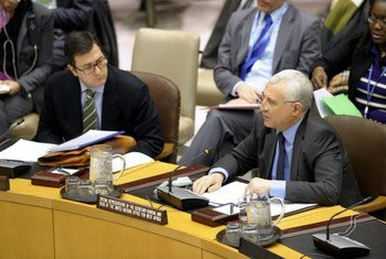UN Special Representative for West Africa Said Djinnit briefs the Security Council.