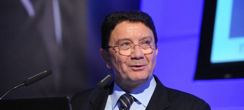 le Secrétaire général de l'OMT, Taleb Rifai.