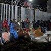 Migrantes en Atenas. Foto de archivo: ACNUR/K. Kehayioy