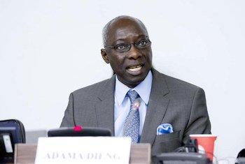 Adama Dieng, le  Conseiller spécial pour la prévention du génocide.ONU Photo/Rick Bajornas