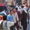 Mercado en un distrito de El Cairo  Foto. OIT/M. Crozet
