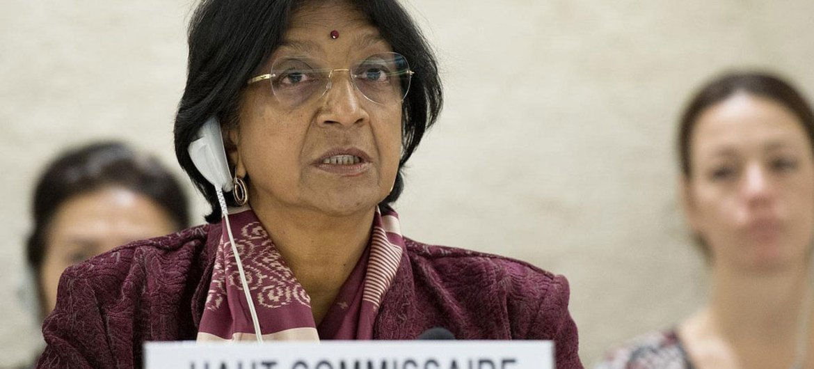 High Commissioner for Human Rights Navi Pillay.