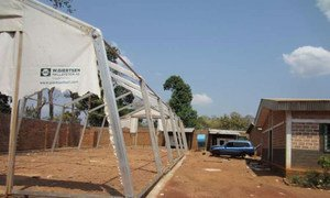 The UNHCR warehouse in Bambari in the Central African Republic which contained relief supplies for refugees and IDPs was looted by armed men.