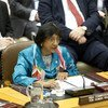 High Commissioner for Human Rights Navi Pillay addresses the Security Council open debate on protection of civilians in armed conflict.