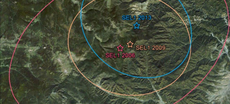 有关朝鲜核试验的资料图片。