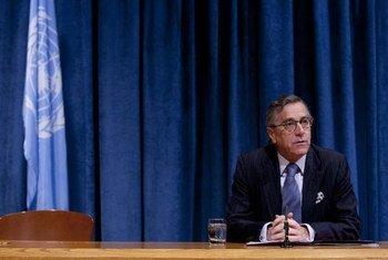 ECOSOC President Néstor Osorio.