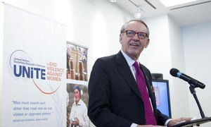 Deputy Secretary-General Jan Eliasson addresses special event to end violence against women and girls.