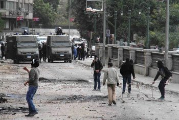 Protestas en Egipto<br>Foto: Amr Emam/IRIN