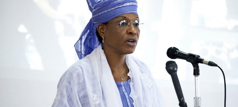 UNAMID Acting Joint Special Representative Aïchatou Mindaoudou.