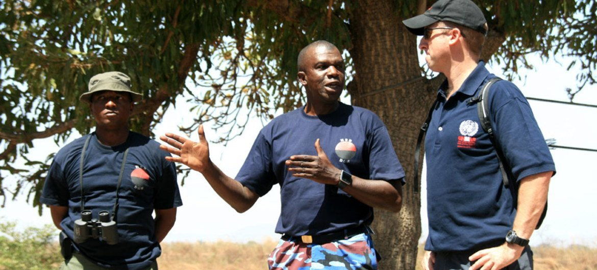 UNMAS Mali is training and working with local Malian military and police to clear landmines and unexploded ordinance in the northern part of the country.