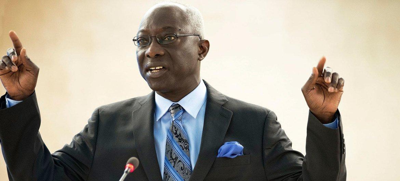 El asesor especial de la ONU sobre Prevención del Genocidio, Adama Dieng.  Foto: ONU/Jean-Marc Ferré