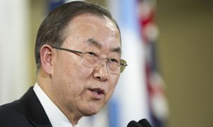 Le Secrétaire général Ban Ki-moon.