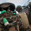 AMISOM troops serving in Belet Weyne, Somalia.