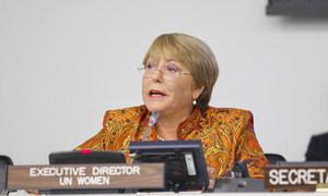 """Бывший президент Чили и глава """"ООН-женщины"""" Мишель Бачелет назначена новым Верховным комиссаром ООН по правам человека."""