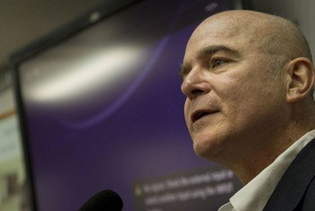 Michel Forst, relator especial sobre la situación de los defensores de derechos humanos. Foto de archico: ONU/Logan Abassi