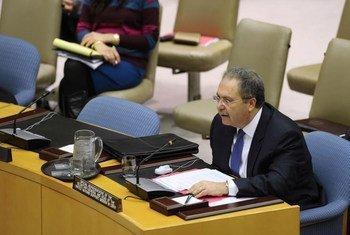 Le Représentant spécial et Chef de la Mission d'appui des Nations Unies en Libye (MANUL), Tarek Mitri.