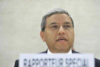 Surya P. Subedi, Special Rapporteur on the situation of Human Rights in Cambodia.