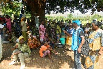 Беженцы из ЦАР в ДРК