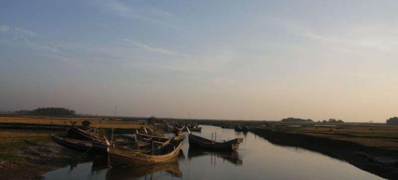 Certains des réfugiés qui risquent leur vie en haute mer proviennent de l'état de Rakhine, au Myanmar.