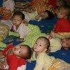 朝鲜儿童。联合国儿基会图片/Gopalan Balagopal