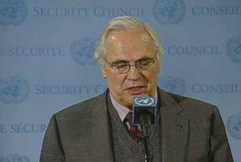 L'Envoyé personnel du Secrétaire général pour le Sahara occidental, Christopher Ross.