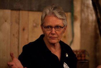 La representante especial de la ONU para la Reducción del Riesgo de Desastres, Margareta Wahlström  Foto: UNISDR/Thomas Williams