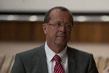 Le nouveau Chef de la Mission de l'ONU pour la stabilisation en RDC (MONUSCO), Martin Kobler.