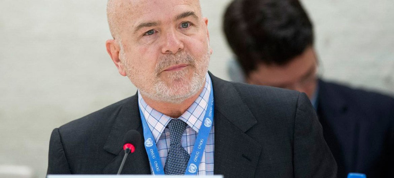 Michel Forst, relator especial sobre la situación de los defensores de derechos humanos.