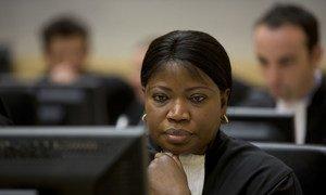 La Procureur de la Cour pénale internationale (CPI), Fatou Bensouda.