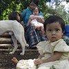 Niña guatemalteca. Foto: UNICEF/Claudio Versiani