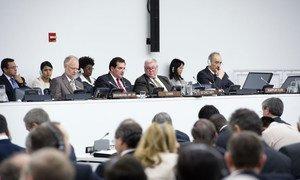 "UN Special Decolonization Committee considers ""Question of Falkland Islands (Malvinas)"" on 14 June 2012."