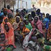 Internally displaced people in the Central African Republic.