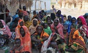 Des personnes déplacées en Republique centrafricaine. Elles seraient 173.000 dans le pays en mars 2013.