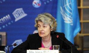 Director-General of UNESCO Irina Bokova.