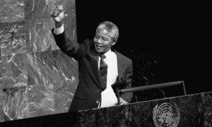 Нельсон Мандела в ООН